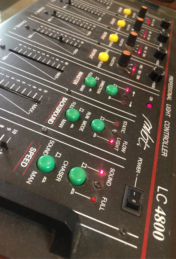 DJ equipment LC 4800 Professional light and sound controlling station