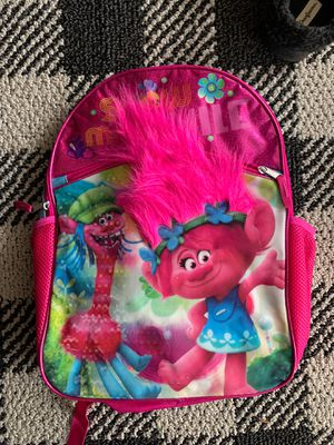 Trolls back pack. It's normal size for Sale in Rialto, CA