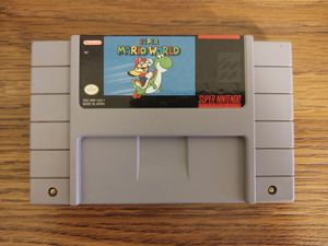 Super Mario World SNES Super Nintendo for Sale in Warren, MI