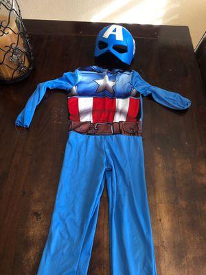 Kids captain America costume for Sale in Stockton, CA
