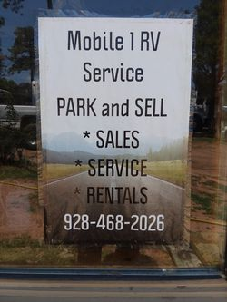 Park and Sell and Mobile 1 RV service Payson Arizona for Sale in Payson,  AZ