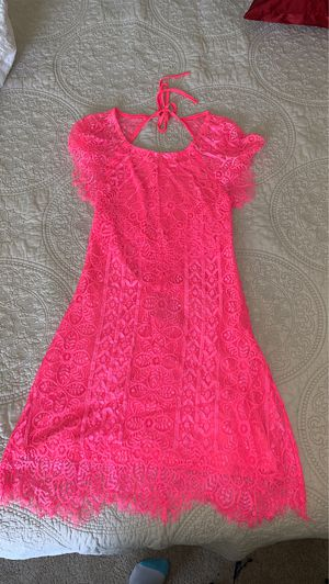 Hot pink lace boutique dress for Sale in Midland, MI