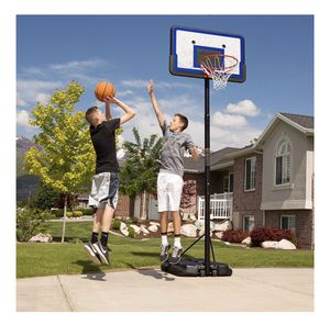 """New In Box Lifetime 44"""" Pro Court Height-Adjustable Portable Basketball Hoop for Sale in Austin, TX"""