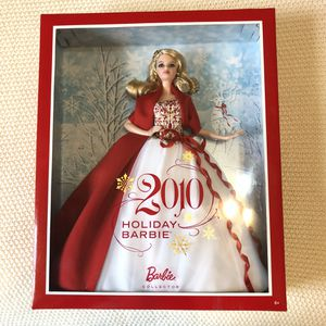 NIB HOLIDAY BARBIE 2010 COLLECTORS for Sale in Orlando, FL