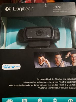 Logitech 920 HD pro camera for Sale in Hartford, CT