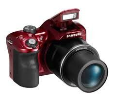 """Samsung WB1100F 16.2MP CCD Smart WiFi & NFC Digital Camera with 35x Optical Zoom, 3.0"""" LCD and 720p HD Video (Red) for Sale in Munhall, PA"""