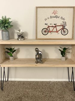 Console Table, Handmade, Rustic Modern Design for Sale in Wilsonville,  OR