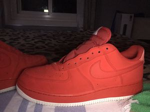 Air force 1 Red/sail-With laces for Sale in Herndon, VA
