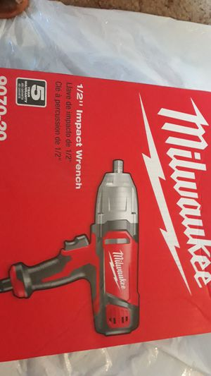 "Milwaukee 1/2"" Impact Wrench for Sale in Baltimore, MD"