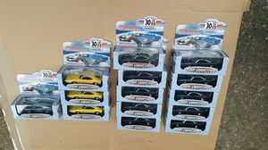 Car collection 1999 collectable 30th anniversary, 1969 Dodge Daytona, 1969 Mustang Road Champs. Vintage toy for Sale in University Place, WA