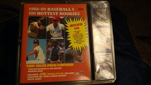 1988 - 89 baseball's 100 hottest rookies cards for Sale in Columbus, OH