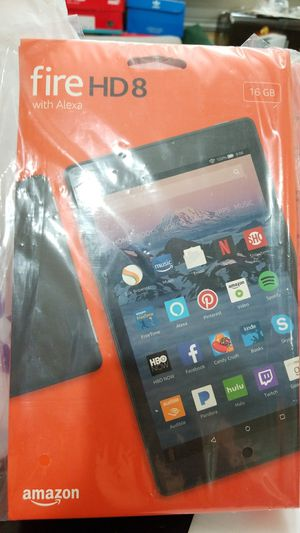 Brand New: Kindle Fire HD 8 with Alexa for Sale in Gulf Stream, FL