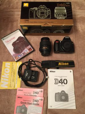 Nikon D40 kit for Sale in Darnestown, MD