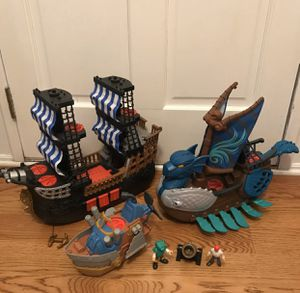 Imaginext Pirate ships for Sale in Thompson's Station, TN