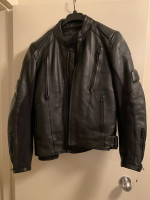 Wilsons Leather Motorcycle Jacket for Sale in Fort Belvoir, VA