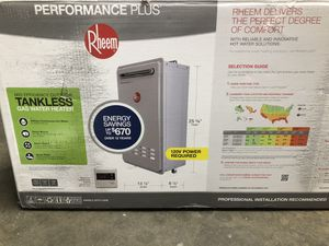 Rheem tankless water heater for Sale in Corona, CA