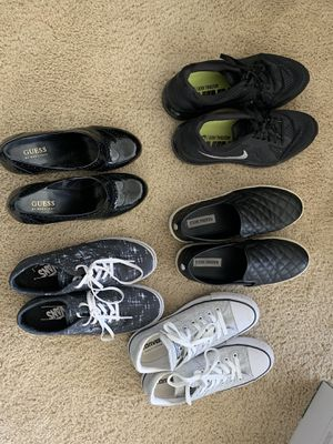 Selling individually size 7.5 shoes for Sale in Oakdale, PA