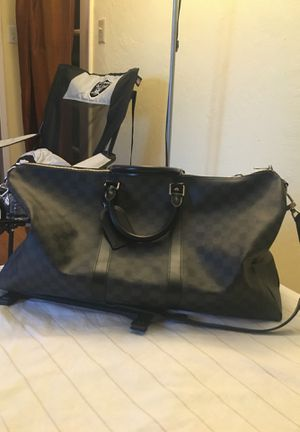 Louis Vuitton black Damien keep all 55 bag for Sale in Union City, CA