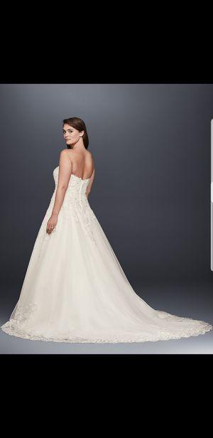 Vintage Rose Wedding Dress Size 16 for Sale in Riverview, FL