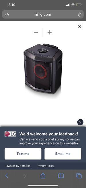 LG Bluetooth Speaker 🔊 for Sale in Fresno, CA