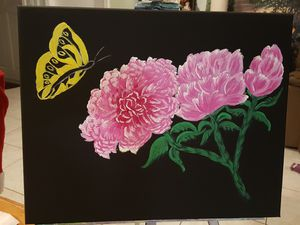 Original acrylic on canvas for Sale in LAKE CLARKE, FL