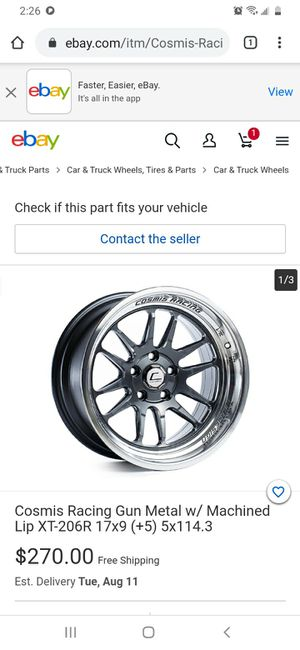 Wheels with tires for Sale in Woonsocket, RI