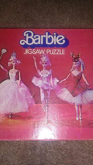 Barbie jigsaw puzzle 1975 for Sale in Arlington, VA