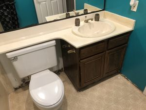"FREE 30"" bathroom vanity, fixtures & sink for Sale in San Ramon, CA"
