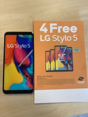 4 FREE LG STYLO 5's for Sale in Port St. Lucie, FL