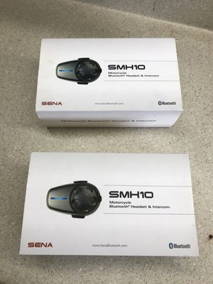 Sena SMH10 Motorcycle Bluetooth Intercom System SMH-10-10 for Sale in Riverview, FL