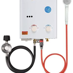 Camplux 5L 1.32 GPM Outdoor Portable Propane Tankless Water Heater for Sale in Los Angeles, CA