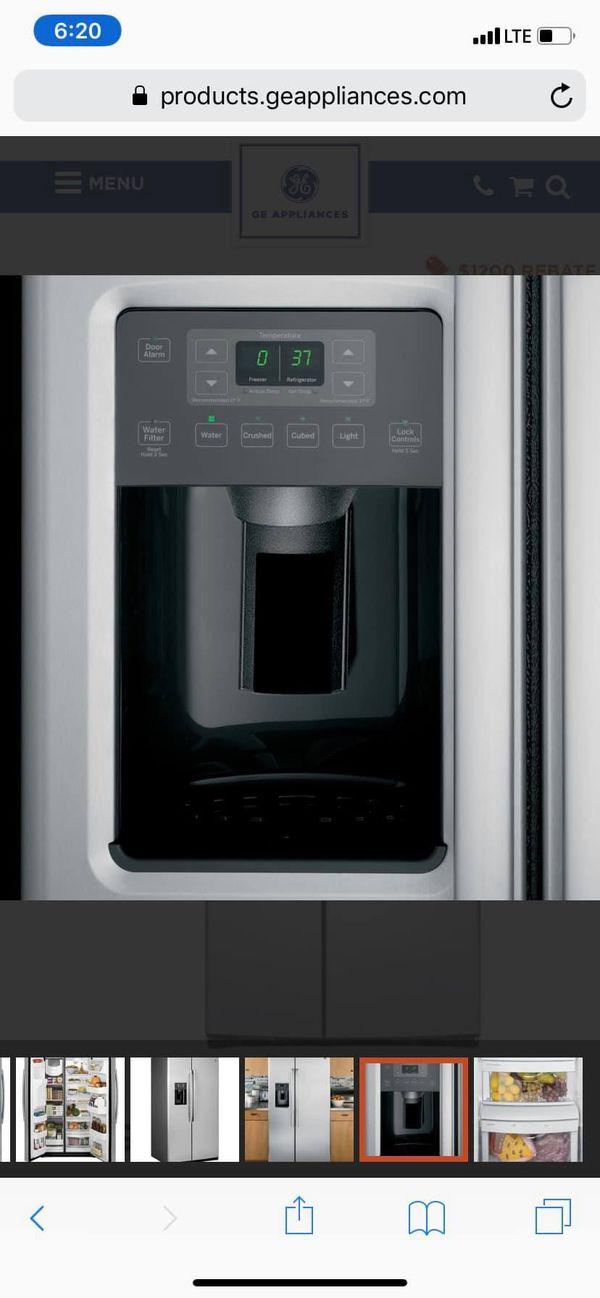 GE Side by Side Refrigerator