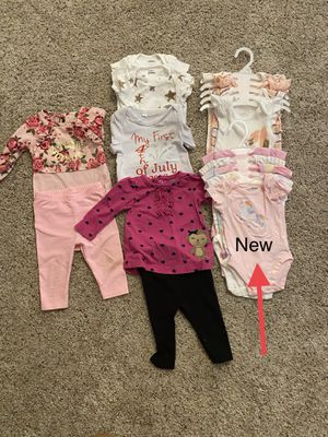 3-6 size baby girl clothing for Sale in Surprise, AZ