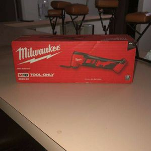 Milwaukee M18 Multi-Tool Tool Only New In Box Sealed for Sale in Glendale, AZ