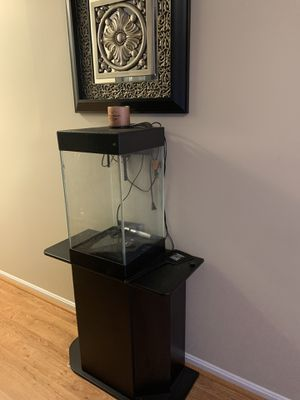 Black Fish Tank and stand for Sale in Clinton, MD
