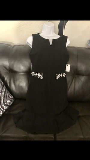 Seven & coco Black crystal dress. Small brand new for Sale in Corona, CA