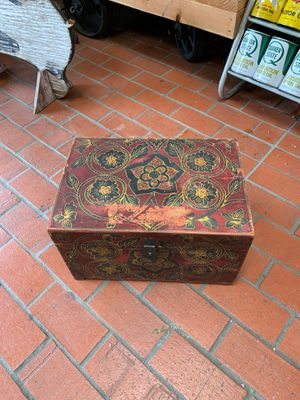 Nice wooden box everything echoed design for Sale in Whittier, CA