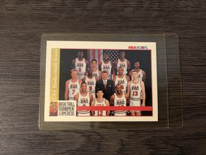 NBA hoops vintage dream team collectible card for Sale in Los Angeles, CA