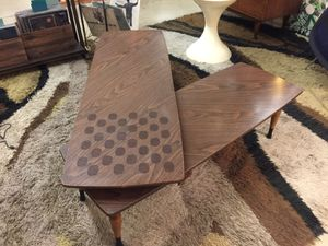 Mid Century Formica Swivel Coffee Table for Sale in San Jose, CA