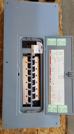200 amp load center with generator lockout & breakers for Sale in Bothell, WA