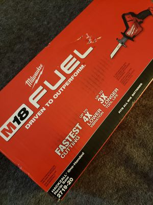 Milwaukee M18 Fuel Hackzall [Tool-Only//FIRM on Price/NO Meńos] for Sale in Phoenix, AZ