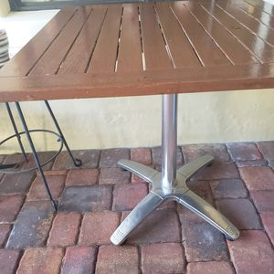 Restaurant dinner table outdoor quality patio table for Sale in Celebration, FL