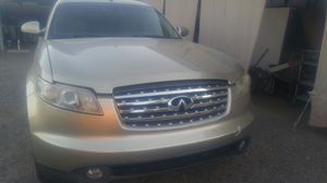 2003 INFINITY FX 35 parting out. for Sale in Avondale, AZ
