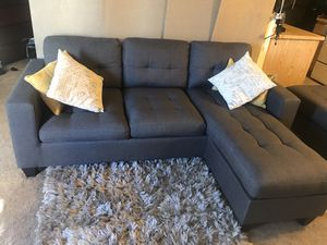 Couch set sectional with pillows for Sale in Burbank, CA