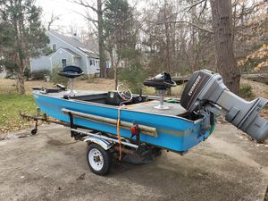 Custom bass boat/motor/trailer for Sale in North Chesterfield, VA