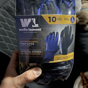 Well Lamont Gloves 10 Pack for Sale in Pompano Beach, FL