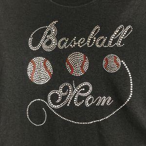 Baseball Mom Bling T-shirt Tee for Sale in Austin, TX
