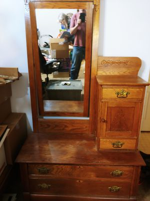 Antique gentleman s dresser for Sale in Wichita, KS