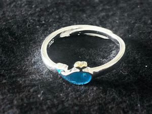 Sterling Silver Blue Whale Ring for Sale in Las Vegas, NV