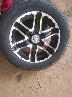 "20"" rims an tires (set of 4 each) for Sale in Heflin, AL"
